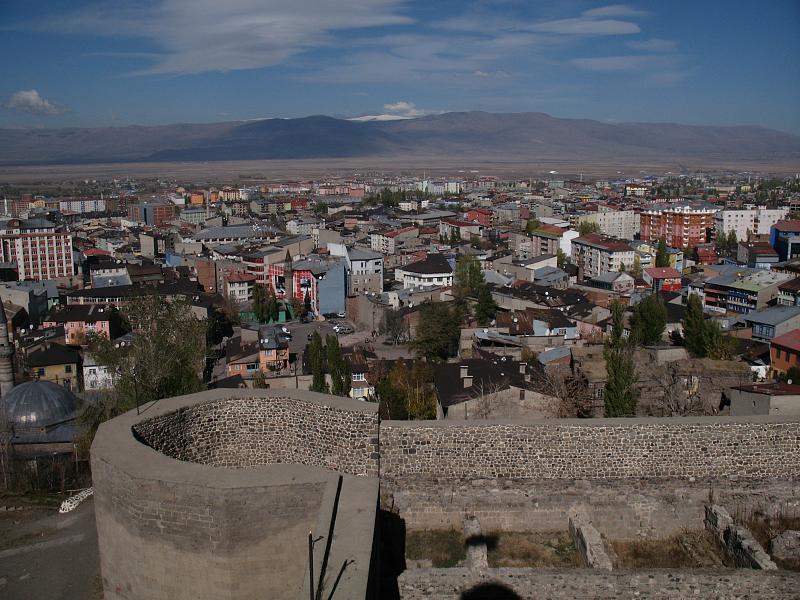 Saat Kulesinden Erzurum Görüntüsü